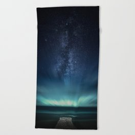 Space Dock Beach Towel