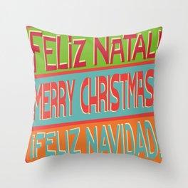 Christmas I Throw Pillow