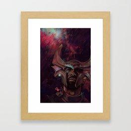 The eyes of Asgard  Framed Art Print