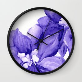 Up Close Wall Clock