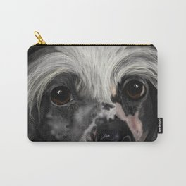 Chinese Crested Up Close Carry-All Pouch