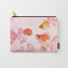 Cherry blossom goldfish Carry-All Pouch
