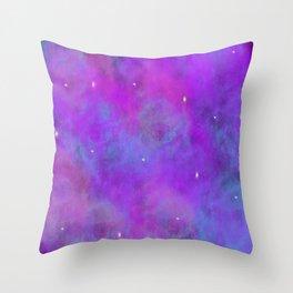 Nebula/Galaxy Throw Pillow