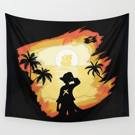 The Pirate King Wall Tapestry