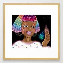 Comet Queen Kandi Framed Art Print