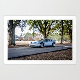 C6 Chevrolet Corvette Grand Sport Art Print