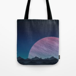 To lands untouched we travel. Tote Bag