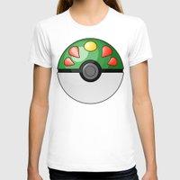 pokeball T-shirts featuring Friendship Pokeball by Amandazzling