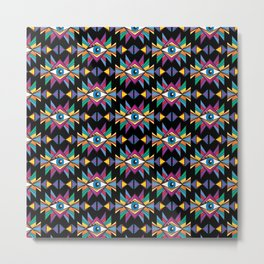 ethnic psychedelic Metal Print