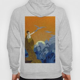 """Wings of Victory"" Art Deco Design Hoody"