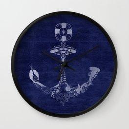 Anchor Me Wall Clock