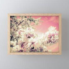 Pink Lavender Flowers Framed Mini Art Print