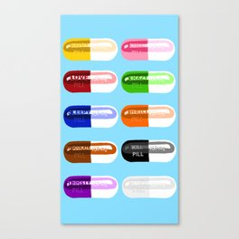 Pill Popper Canvas Print