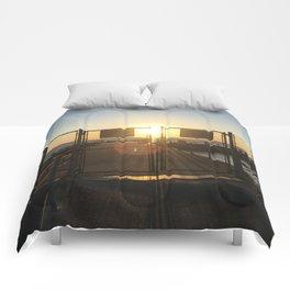 Gated Sunrise Comforters