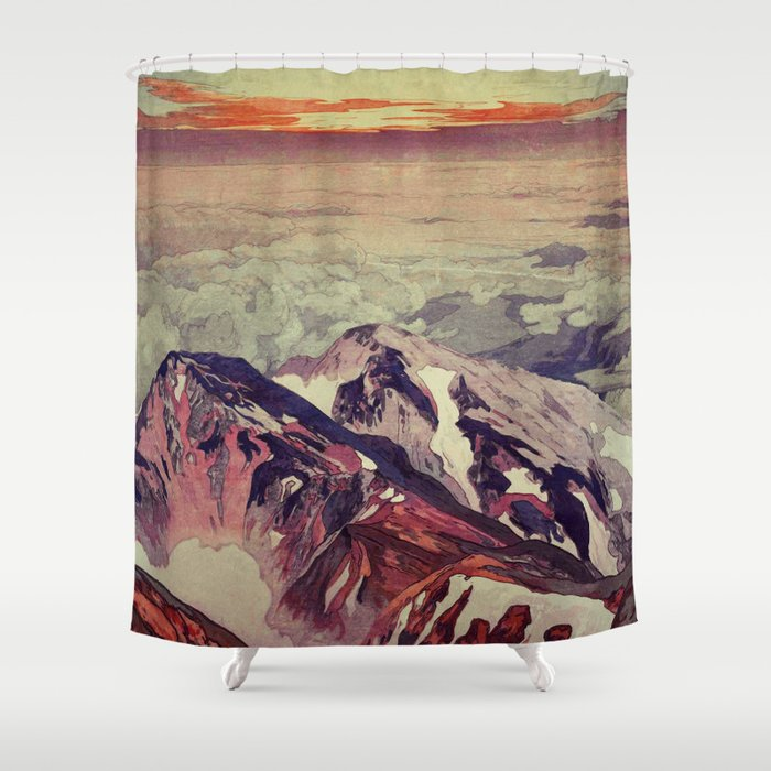 Victory the Climb Shower Curtain