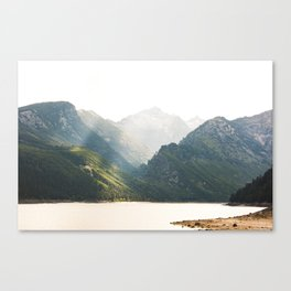The Montana Collection - Lake Como Canvas Print