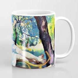 Nap - Rest, Jeanne - Henri Charles Manguin Coffee Mug