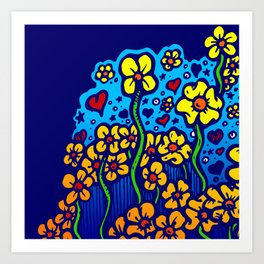 FLOWERS FOR SHERRY 002 Art Print