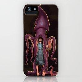 Squid Gir iPhone Case