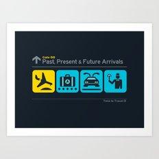Time to Travel Art Print