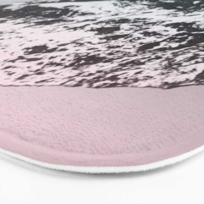 Mountains last forever Bath Mat