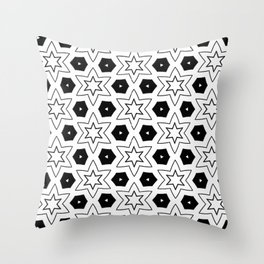 Pattern 1.1 Throw Pillow