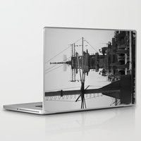 wisconsin Laptop & iPad Skins featuring USS Wisconsin by Kelly Stiles