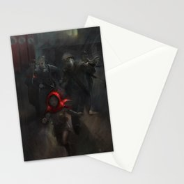 Girl with the red hood Stationery Cards
