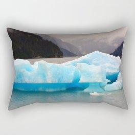 Floating Ice Rectangular Pillow
