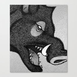 Boar Canvas Print