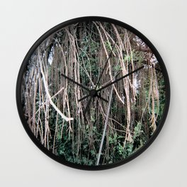Trees of Finchley 2 Wall Clock