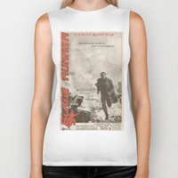 blade runner Biker Tanks featuring Blade Runner by JAGraphic