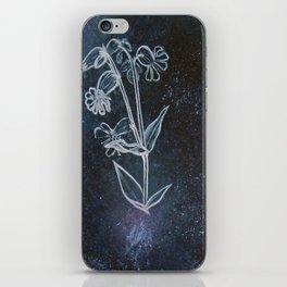 Bladder Campion in Space iPhone Skin