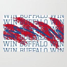 WIN BFLO FOOTBALL Rug