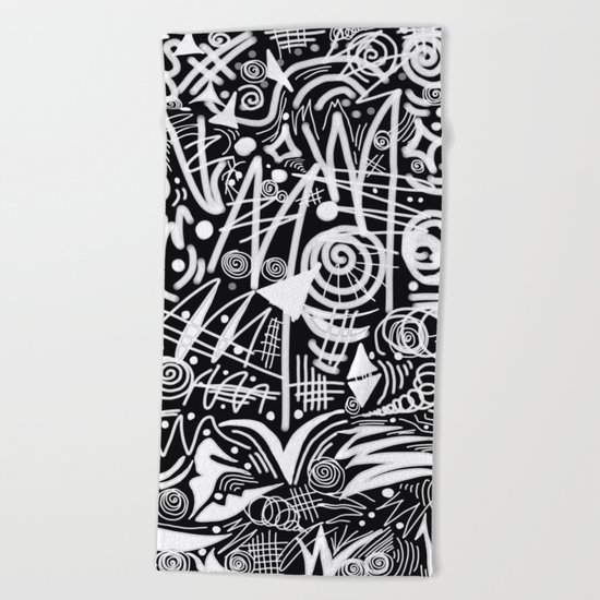 Chalk Board! Beach Towel