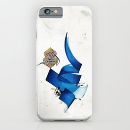 Arabic Calligraphy - Rumi - Journey Into Self iPhone Case