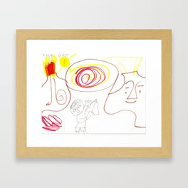 A Huge Craze Framed Art Print