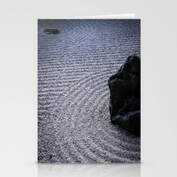 zen Stationery Cards featuring Zen by Michelle McConnell