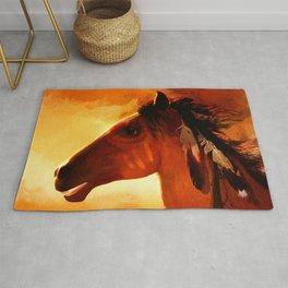 HORSE - Apache Rug