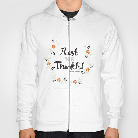 Rest and Be Thankful Hoody