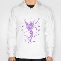 tinker bell Hoodies featuring Tinker Bell Disneys by Carma Zoe