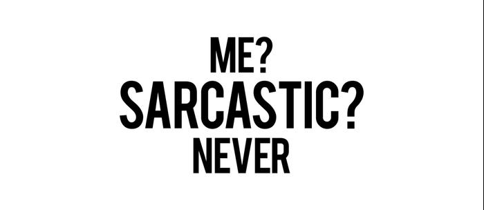 Me? sarcastic? never Coffee Mug
