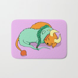 Dinku and Furret Bath Mat