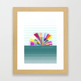 loco in acapulco Framed Art Print