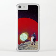 Together with the Sunset Clear iPhone Case