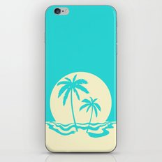 Calm Palm iPhone Skin