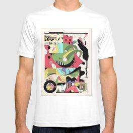 Cat on Tree T-shirt
