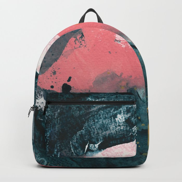 upside down town Backpack