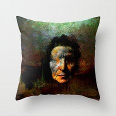 The oracle of Delphes Throw Pillow