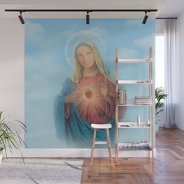 Our Lady Mary Berry Wall Mural